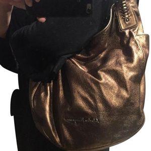 d92726b5e2 Price ⬇ Salvatore Ferragamo Bronze Leather ...